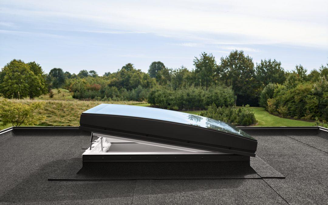 Lichtkoepels voor een plat dak